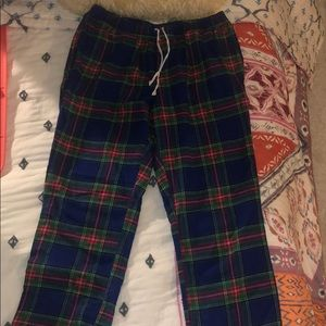 Plaid Vineyard Vines PJ bottoms